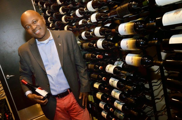 Anani-Lawson-a-native-of-Togo-is-the-new-sommelier-of-Lucy-Restaurant-Bar-in-Yountville.-Lawsons-experience-includes-more-than-ten-years-at-the-French-Laundry.